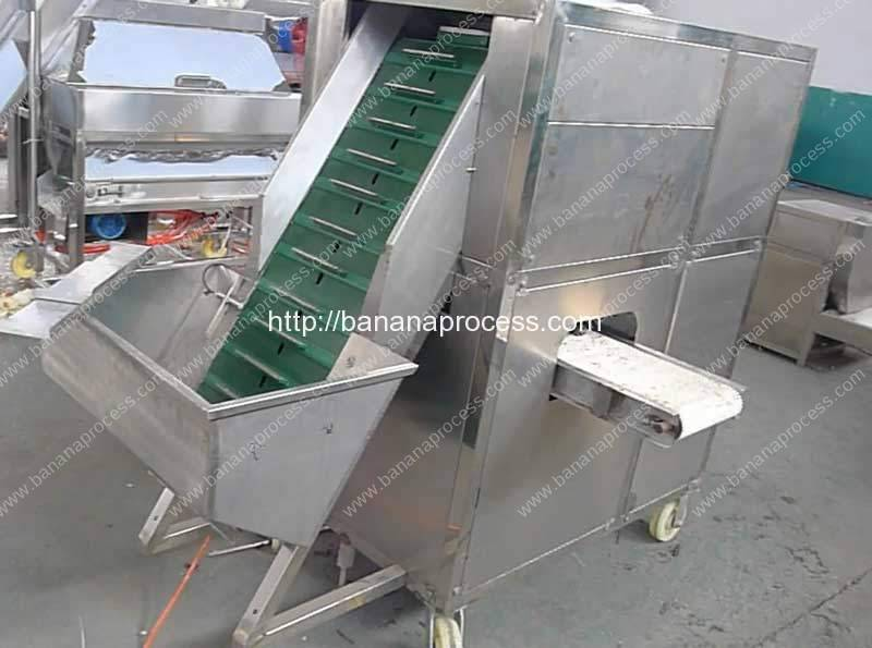 Automatic Feeding Ripe Banana Peeling Machine