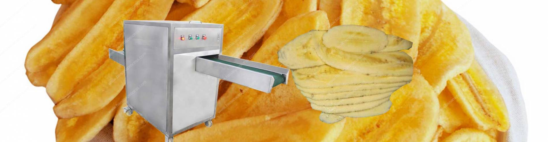 Automatic Banana Longitudinal Slicer Machine