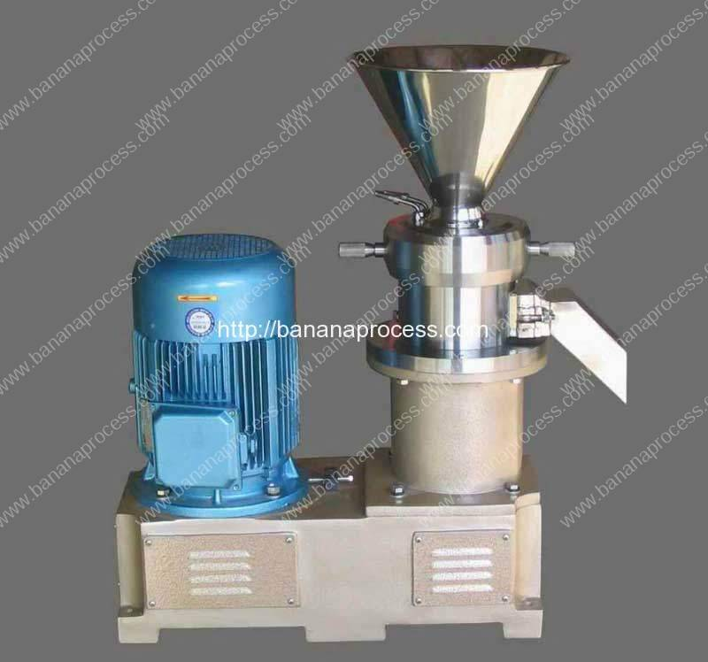 Carbon-Steel-Shell-Banana-Paste-Colloid-Mill-Machine