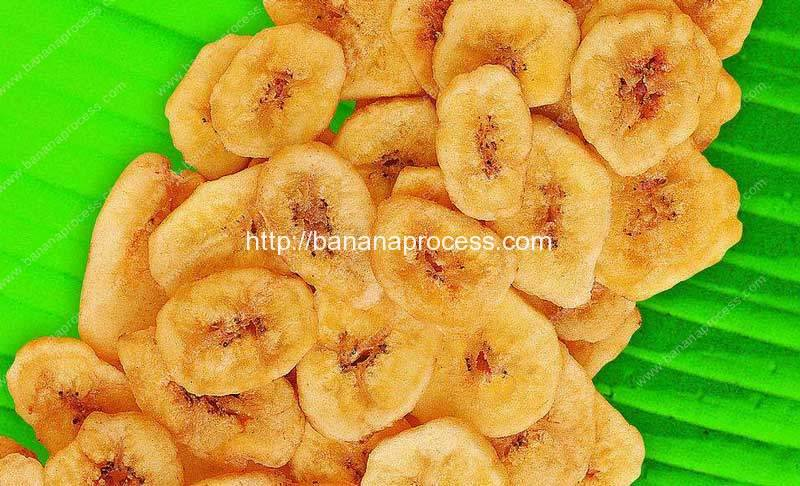 Full Automatic Frying Banana Chips Production Line