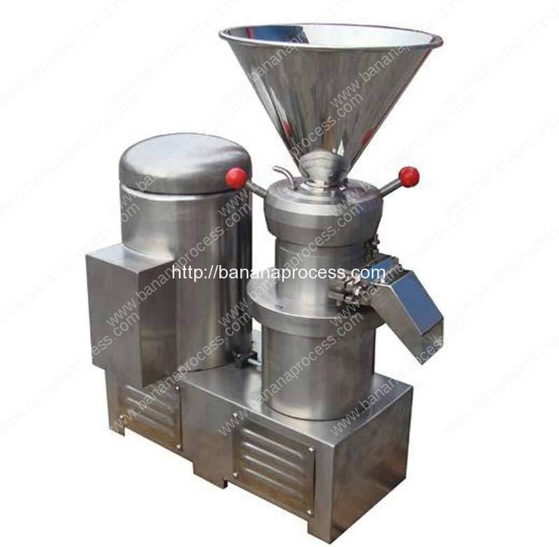 Full Stainless Steel Banana Jam Colloid Mill Machine