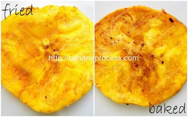 Plantain Chips: Baked or Fried?