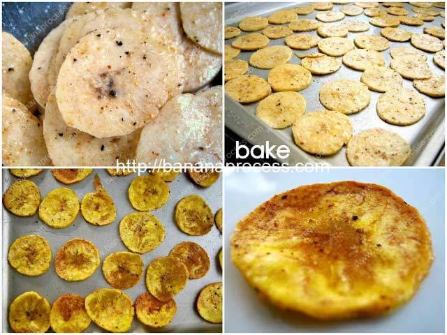 Plantain-Chips-Baking-Result