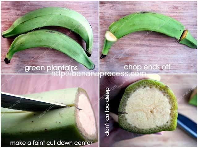 Prepareing-Plantain-Chips