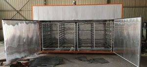 Semi-Automatic Electric Heating Banana Chip Dryer Oven