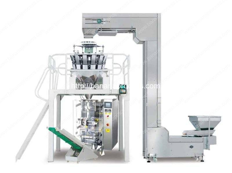 Full-Automatic-Banana-Chips-Packing-Plant Machine