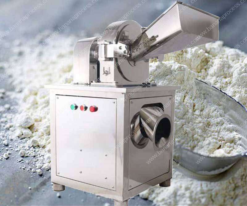Banana-Flour-Stainless-Steel-Water-Cooling-Grinder-Machine