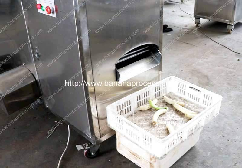 Double-Inlet-Green-Plantain-Peeling-Machine-for-Asia-Market