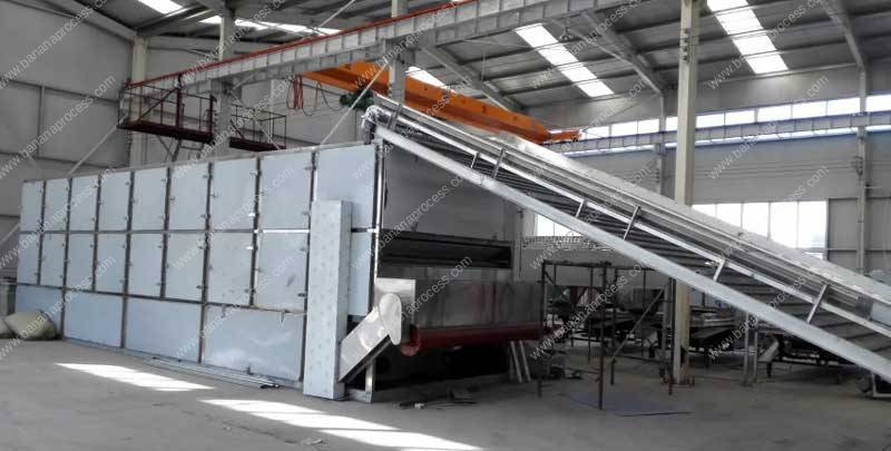 Full Automatic Multi-Layer Banana Chip Dryer Machine