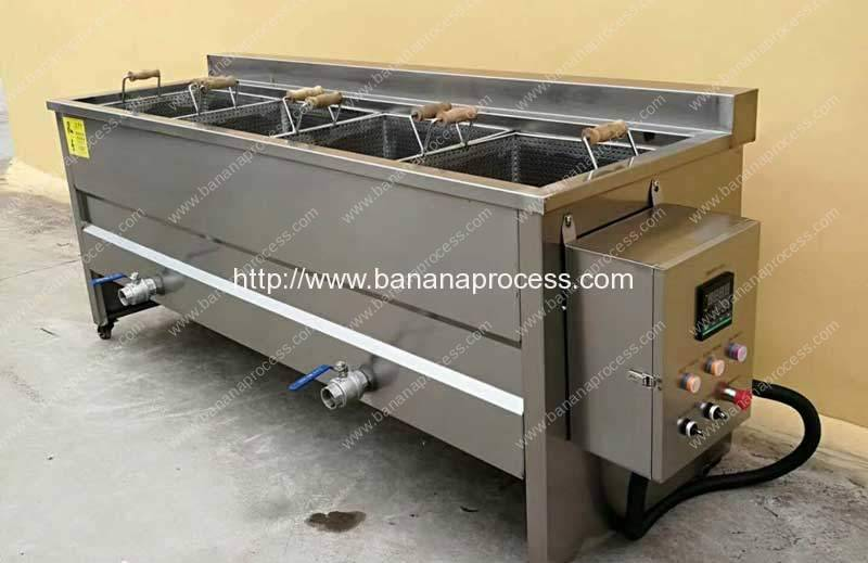 Manual Type Banana Chips Frying Machine for Sale