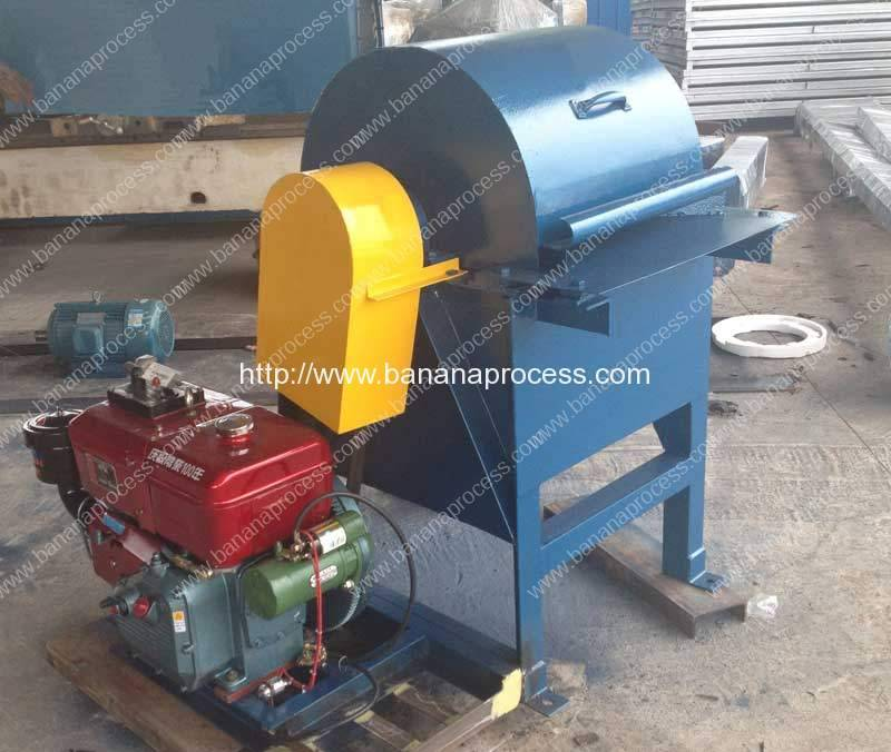 Small Banana Fiber Extracting Machine for Sale