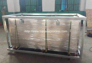 Automatic-Green-Banana-Double-Inlet-Peeling-Machine-for-Thailand-Banana-Steel-Frame-Package
