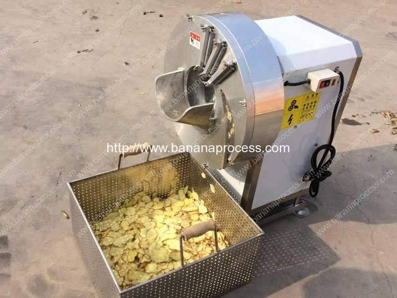 Automatic Banana Long Slice Cutting Machine for Sale