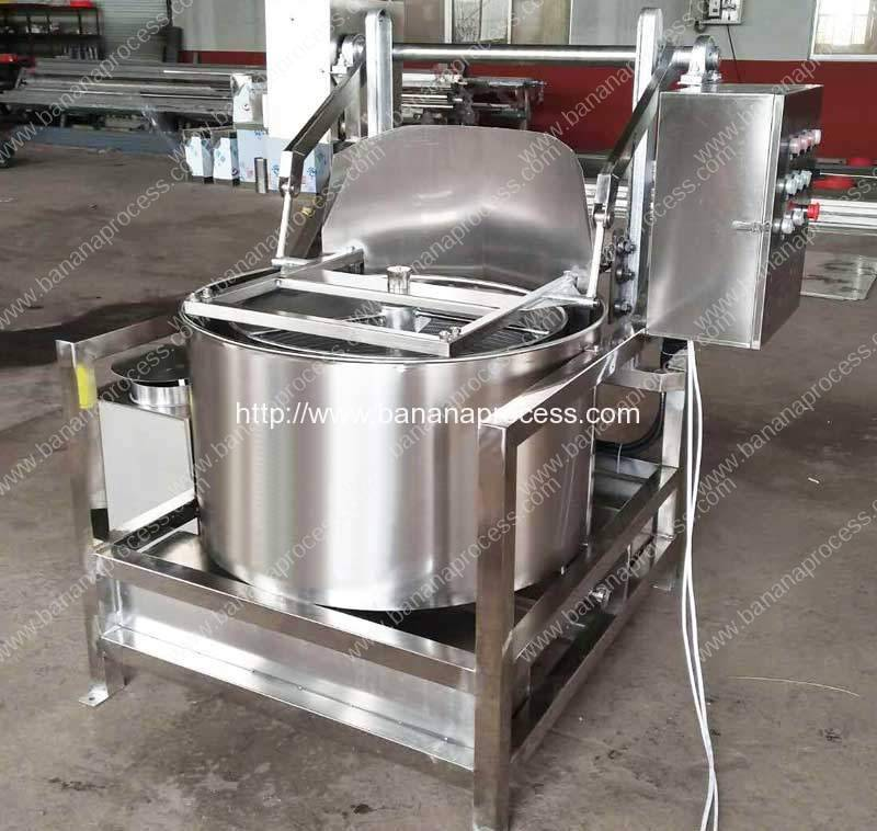 Continuous Working Frying Banana Chips De-Oiling Machine