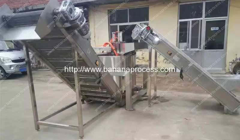 Continuous-Working-Down-Discharge-Frying-Machine-De-Oiling-Machine