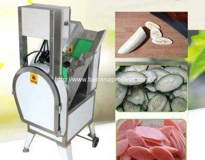 Automatic Diagonal Banana Chip Slicer Machine