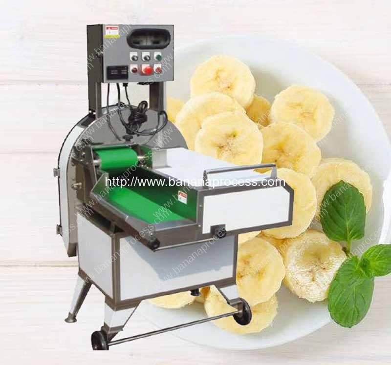Automatic-Round-Banana-Chip-Cutting-Machine