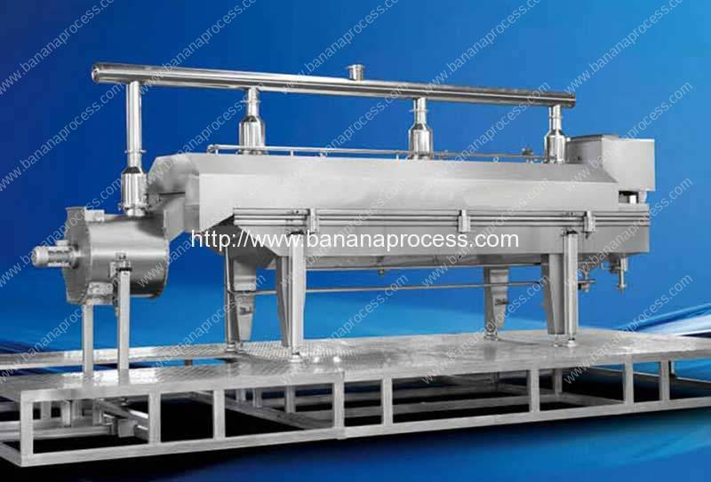 Continuous Banana Chips Vacuum Frying Machine