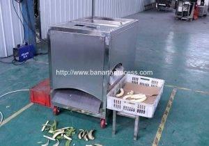 Green Plantain Banana Peeling Machine for Vietnam Customer