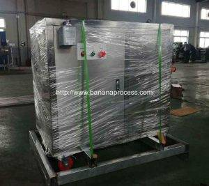 Automatic Green Plantain Banana Peeling Machine Delivery for Vietnam