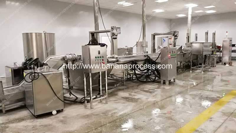 Automatic-Banana-Chips-Production-Line-with-Sugar-Covering-Machine
