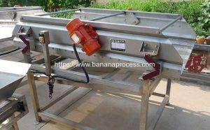 Automatic Frying Banana Chip Vibrate Water&Oil Removing Machine