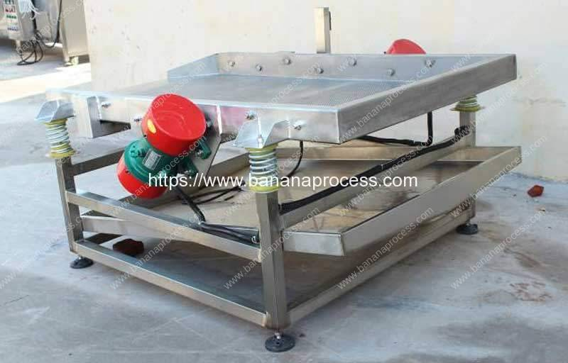 Frying-Banana-Chip-Vibrate-Oil-Removing-Machine