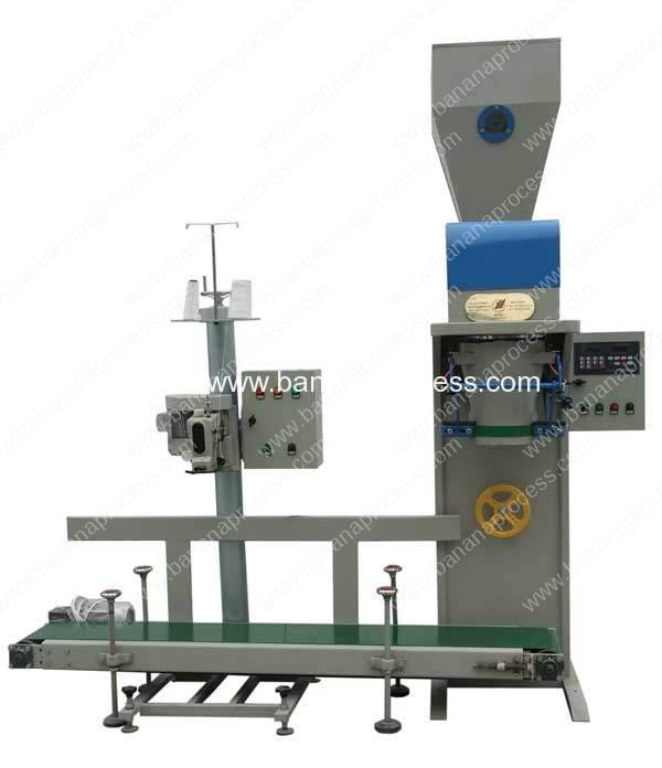 Automatic-25kg-Banana-Powder-Packing-Machine