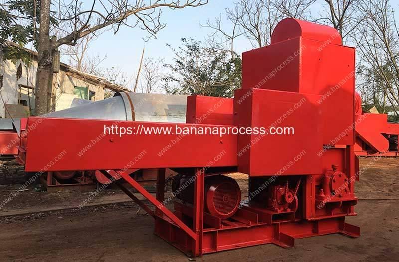 Automatic-Banana-Tree-Crushing-Machine
