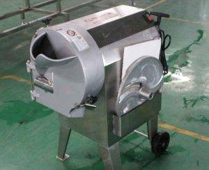 Wave Shape Plantain Chips Cutting Machine