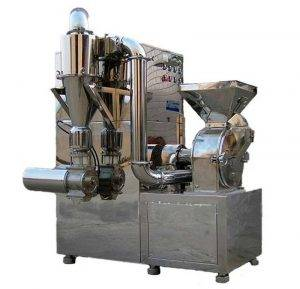 Continuous Type Integrated Banana Flour Grinder Machine