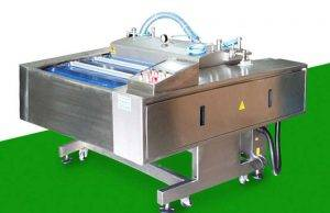High Speed Peeled Banana Rotary Vacuum Packing Machine