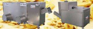 Automatic Green Banana Peeling and Banana Chip Cutting Line