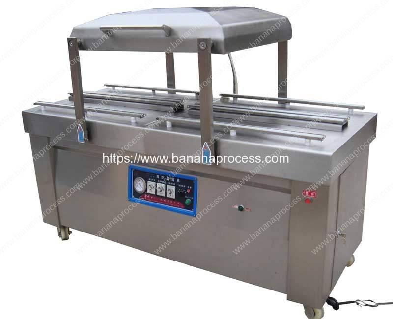 Double-Chamber-Banana-Vacuum-Packing-Machine