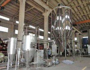 Automatic Banana Flour Spray Drying Machine