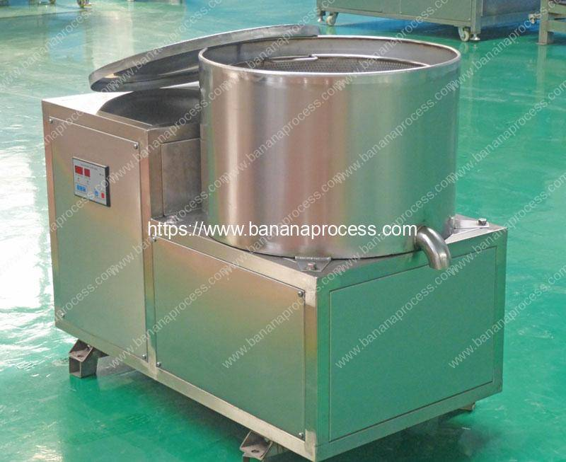 Centrifugal-Type-Plantain-Chips-Deoiling-Machine