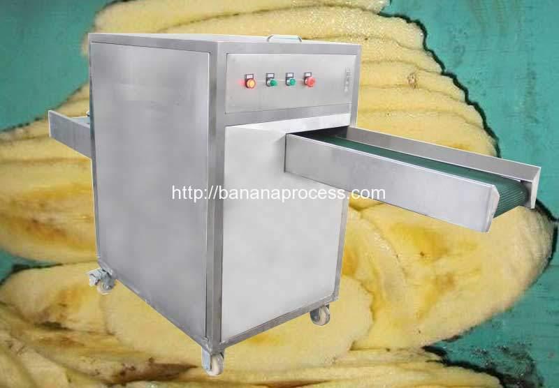Automatic-Banana-Longitudinal-Slicer-Machine