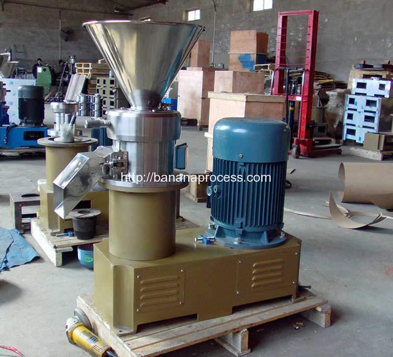 Carbon-Steel-Shell-Banana-Sauce-Colloid-Mill-Machine