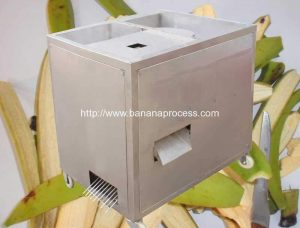 Single Inlet Green Banana Peeling Machine for Ecuador Customer