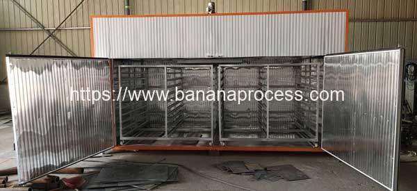 Batch-Type-Electric-Type-Banana-Slice-Dryer-Oven-Internal-Trolley