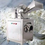 Water Cooling Type Stainless Steel Banana Flour Grinder Machine