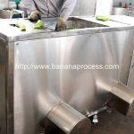 Double Inlet Green Banana Peeling Machine