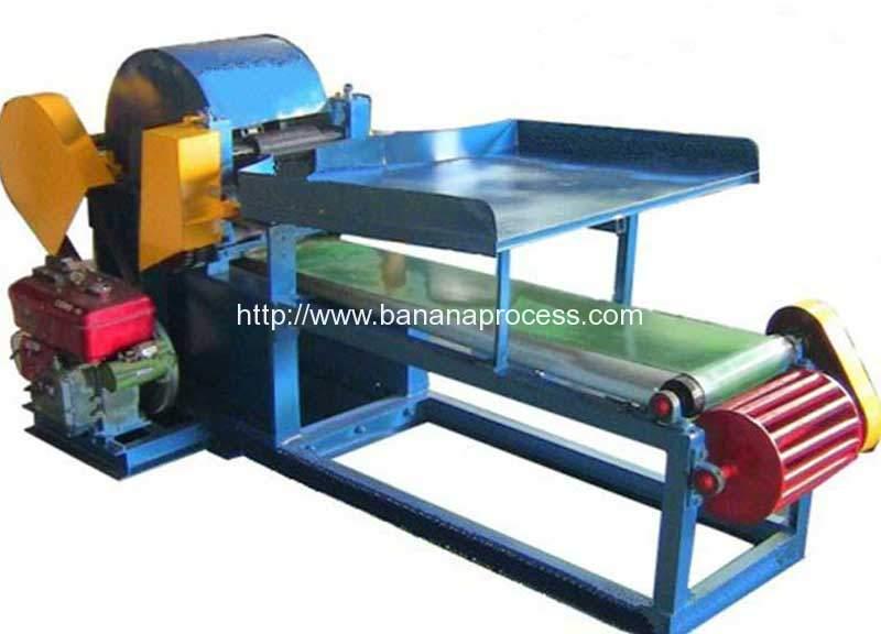Automatic-Banana-Tree-Fiber-Extrator-Machine