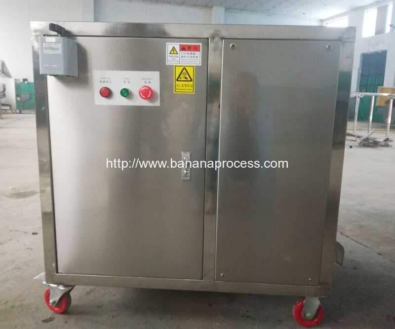 Single-Inlet-Green-Plantain-Peeling-Machine-for-Euroindia-Company