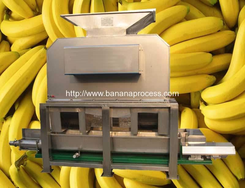 Ripe-Yellow-Banana-Peeling-and-Juicer-Making-Machine