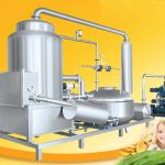 Batch Type Banana Chips Vacuum Frying Machine