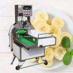 Automatic Round Banana Chip Cutting Machine