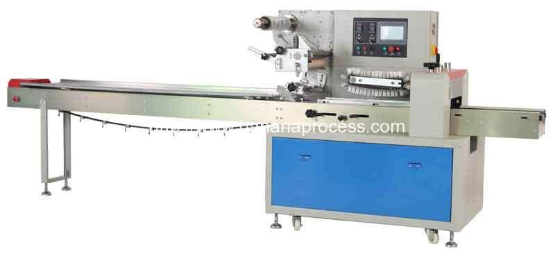 Automatic-Banana-Flow-Type-Plastic-Film-Packing-Machine