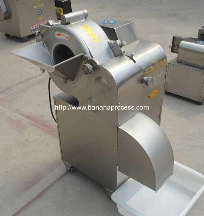 Automatic-Banana-Stem-Cube-Shape-Dicer-Cutting-Machine