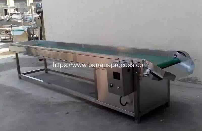 Automatic-Banana-Chips-Selection-Conveyor